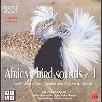 African Bird Sounds – osa 1 (4 CD levyä), National Sound Archive