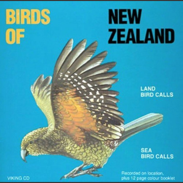 Birds of New Zealand, Land / Sea Bird Calls, CD