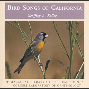 Bird songs of California; Keller, G., A.