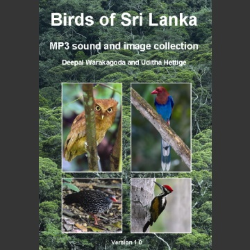 Birds of Sri Lanka. MP3; Waragoda, D. & Hettige, U. 2008