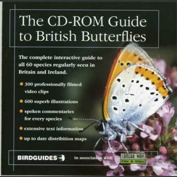 CD-ROM to British Butterflies; Birdguides (2000)