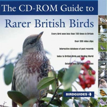 CD-ROM Guide to Rarer British Birds; Birdguides (2004)
