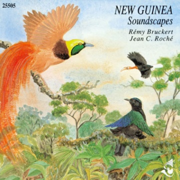 New Guinea Soundscapes CD; J. C. Roché & R. Bruckert