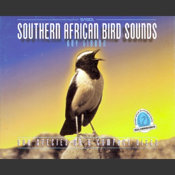 Southern African Bird Sounds CD; Gibbons, G.