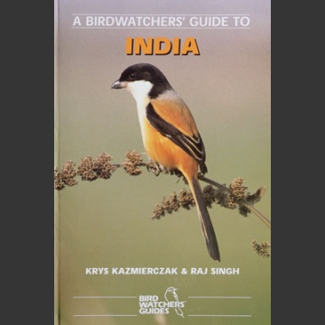 Birdwatchers' guide to India (Kazmierczak, K. 1998)