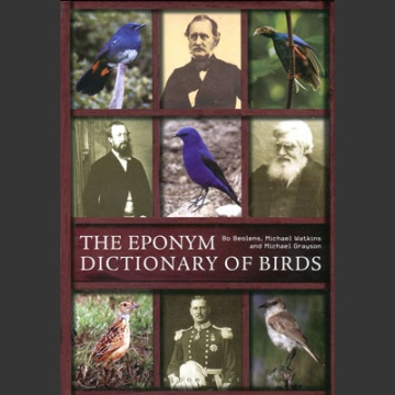 Eponym Dictionary of Birds (Beolens, B. ym. 2014)