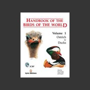 Handbook of the Birds of the world vol 1 (Hoyo ym. 1992)