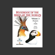 Handbook of the Birds of the world vol 3 (Hoyo ym. 1996)