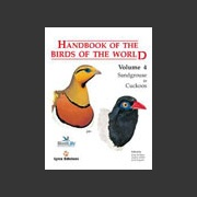 Handbook of the Birds of the world vol 4 (Hoyo ym. 1997)