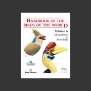 Handbook of the Birds of the world vol 6 (Hoyo ym. 2001)