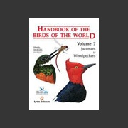 Handbook of the Birds of the world vol 7 (Hoyo ym. 2002)