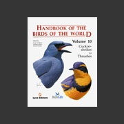 Handbook of the Birds of the world vol 10 (Hoyo ym. 2005)