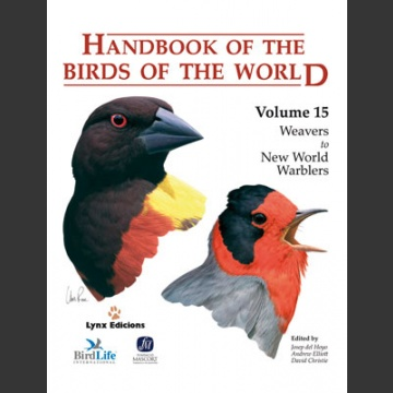 Handbook of the Birds of the world vol 15 (Hoyo ym. 2010)