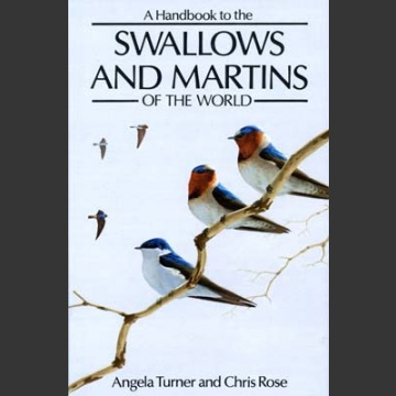 Swallows and Martins of the World (Turner, A. 2.painos 1994)