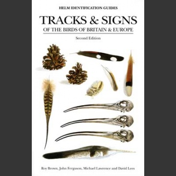 Track and Signs of the birds of Britain and Europe ( Brown, R. ym. 2nd edition 2002)