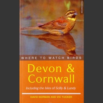 Where to watch birds in Devon & Cornwall (Norman, D. 2001)
