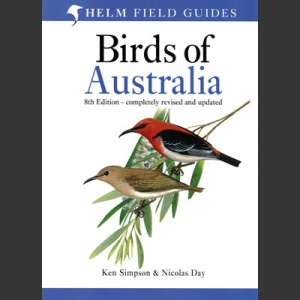 Field Guide to the Birds of Australia, 8. painos (Simpson & Day 2013)