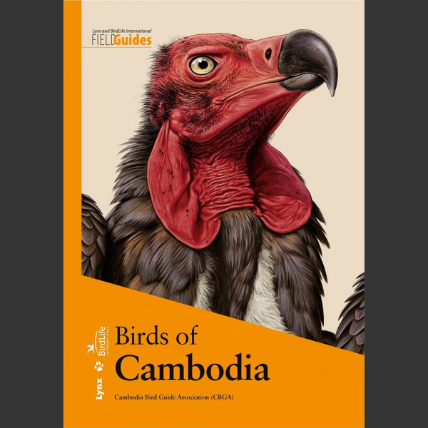 Birds of Cambodia (Cambodia Bird Guide Association, 2019) Flexi