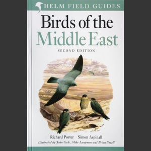 Field Guide to the Birds of the Middle East Porter, R.F. ym. 2010)