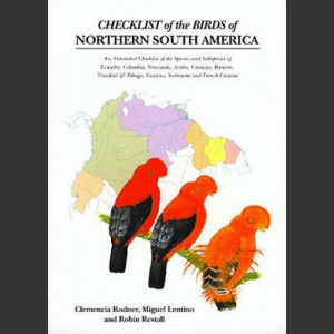 Checklist of the Birds of Northern South America (Rodner, C. 2000)