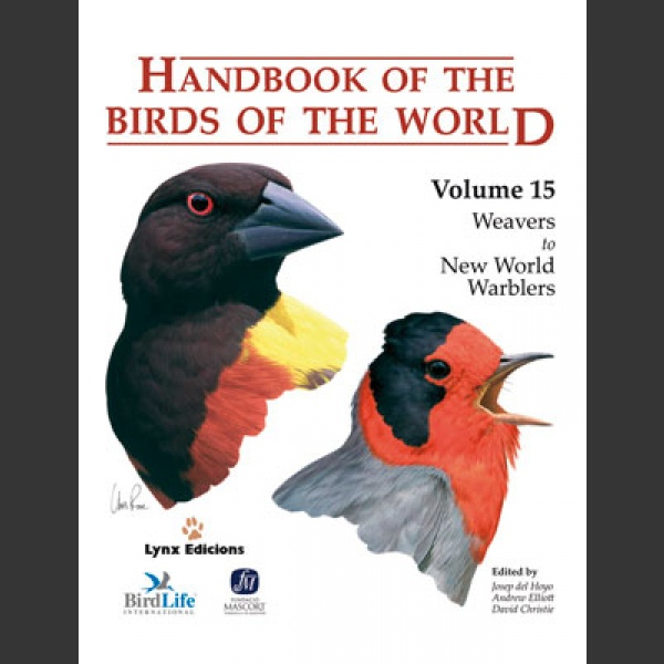 Handbook of the Birds of the world vol 16 (Hoyo ym. 2011)